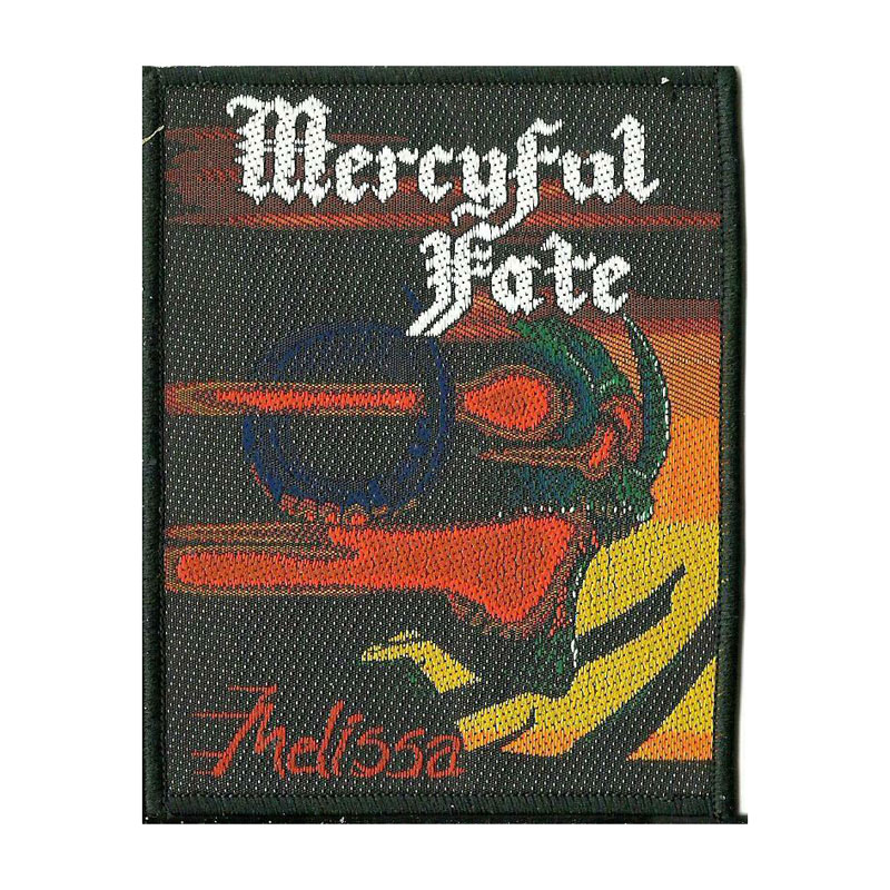 MERCYFUL FATE 官方原版 Melissa (Woven Patch)