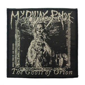 MY DYING BRIDE 官方原版 The Ghost of Orion (Woven Patch)