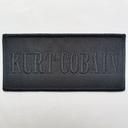 NIRVANA/KURT COBAIN 官方进口原版 Logo (Embroidered Patch)