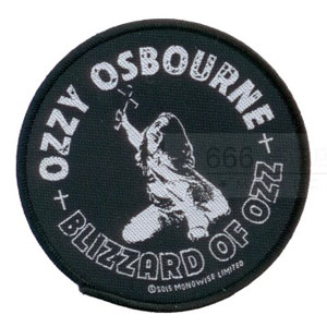 OZZY 官方原版 Blizzard of Ozz (Woven Patch)