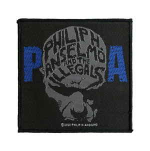 PHIL ANSELMO & THE ILLEGALS 官方原版 Face (Woven Patch)