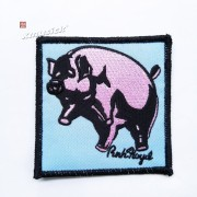 PINK FLOYD 官方原版 Animals Pig (Embroidered Patch)