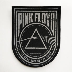 PINK FLOYD 进口原版 Dark Side Of The Moon 盾型 (Woven Patch)