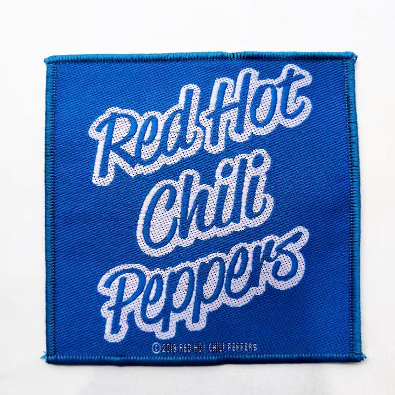 RED HOT CHILE PEPPERS 进口官方原版 Logo (Woven Patch)