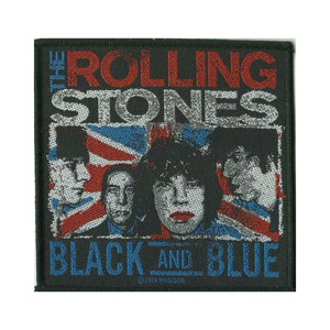 ROLLING STONES, THE 滚石乐队官方原版 Black and Blue (Woven Patch)
