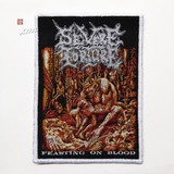 SEVERE TORTURE 官方原版 Feasting on Blood (Woven Patch) 通用