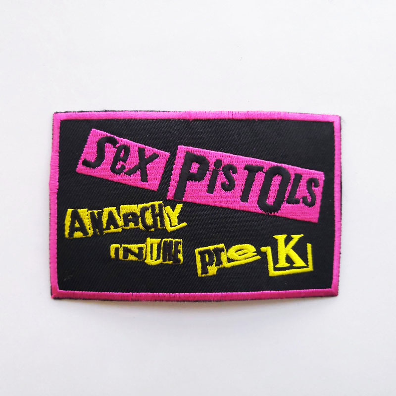 SEX PISTOLS 性手枪 官方原版 Anarchy In The PreUK (Embroidered Patch)
