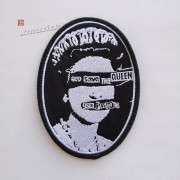 SEX PISTOLS 性手枪 官方原版 God Save the Queen 椭圆 (Embroidered Patch)