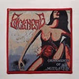 SICKNESS 进口原版 Ornaments of Mutilation (Woven Patch)