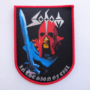 SODOM 德国进口原版 In The Sign Of Evil (Woven Patch)