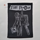 SORE THROAT 进口原版 Death to Capitalist (Woven Patch)