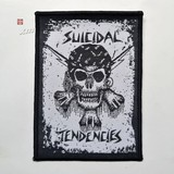 SUICIDAL TENDENCIES 官方原版 Skull Piaraty (Woven Patch)