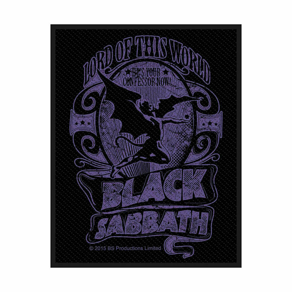 BLACK SABBATH 官方原版 Lord of this world (Woven Patch)