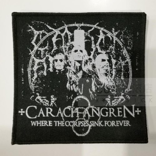 CARACH ANGREN 美国进口原版 Where The Corpses Sink Forever (Woven Patch