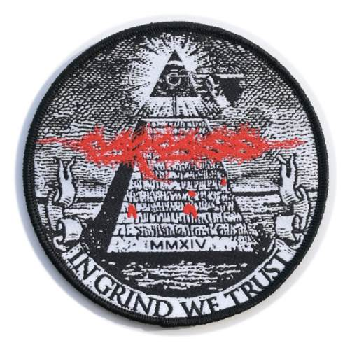 CARCASS 官方进口原版 In Grind We Trust (Woven Patch)