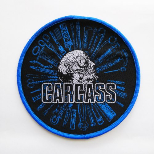 CARCASS 官方进口原版 Necro Head Tools (Woven Patch)