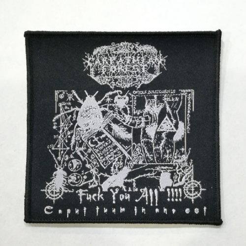 CARPATHIAN FOREST 进口原版 Fuck you all (Woven Patch)