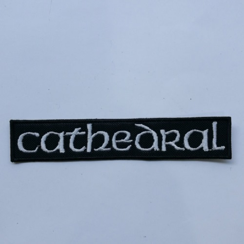 CATHEDRAL - Logo (Embroidered Patch)
