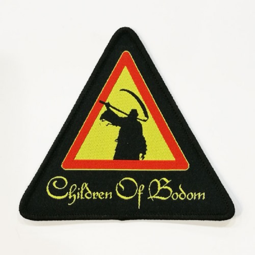 CHILDREN OF BODOM 美国进口原版 Reaper Triangle (Woven Patch)