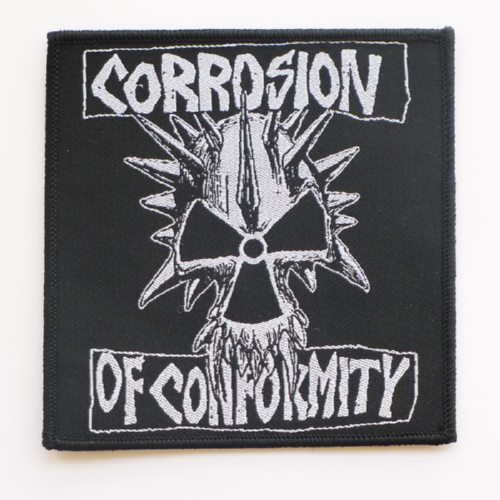 CORROSION OF CONFORMITY 官方原版 Logo (Woven Patch)