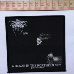 DARKTHRONE 官方进口原版 A Blaze In The Northern Sky (Woven Patch)