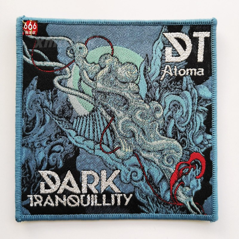 DARK TRANQUILLITY 官方原版 Atoma (Woven Patch)