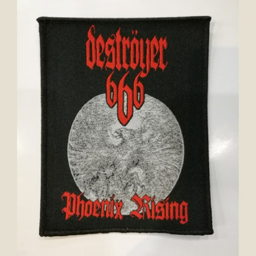 DESTROYER 666 官方原版 Phoenix Rising (Woven Patch)