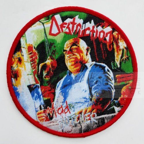 DESTRUCTION 官方进口原版 Mad Butcher (Woven Patch)