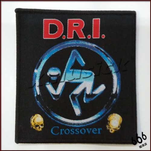 D.R.I. 官方进口原版 Crossover (Woven Patch)