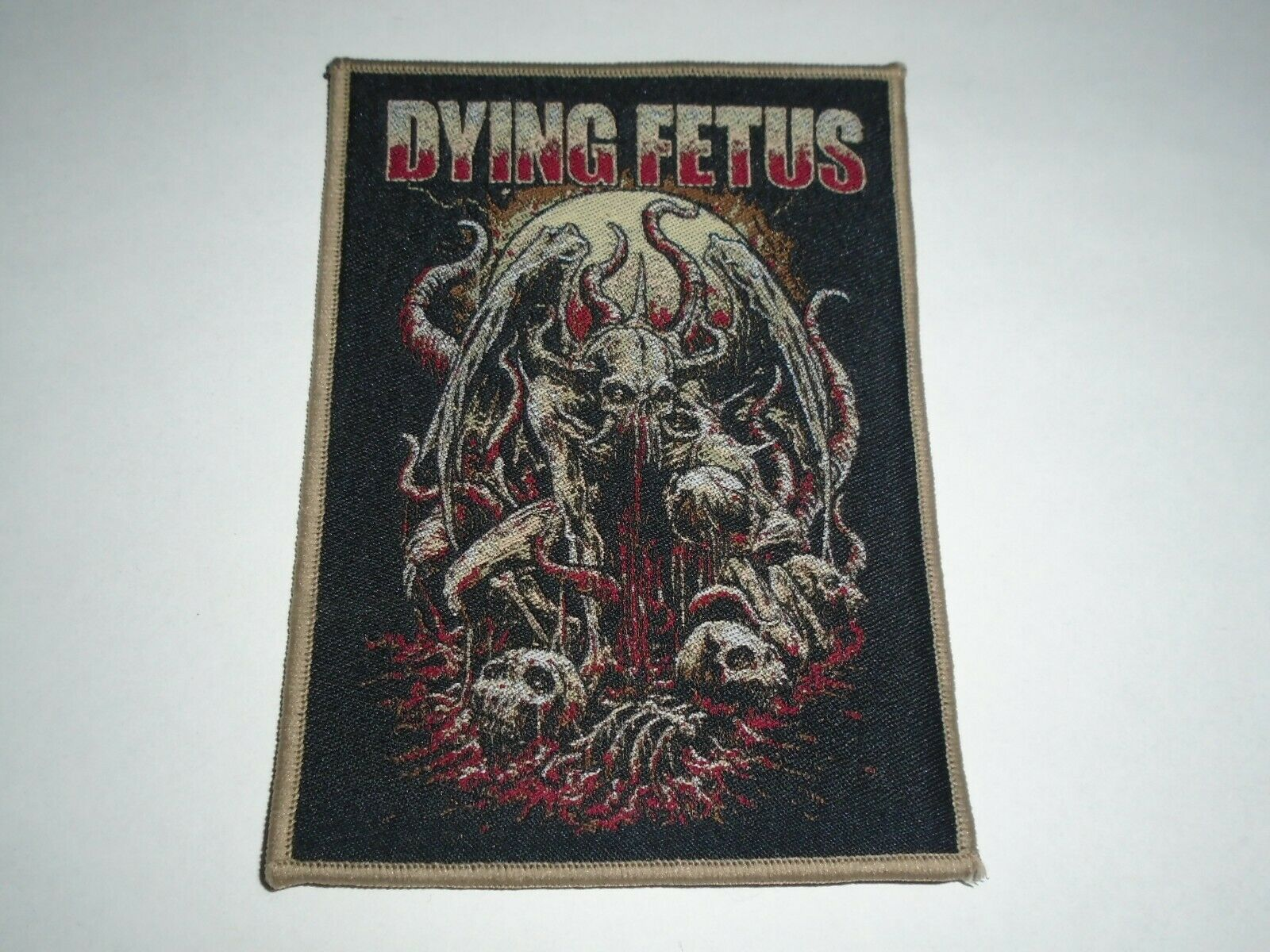 DYING FETUS 官方原版 Fullmoon (Woven Patch)