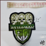 EVILDEAD Logo 异形 (Embroidered Patch)