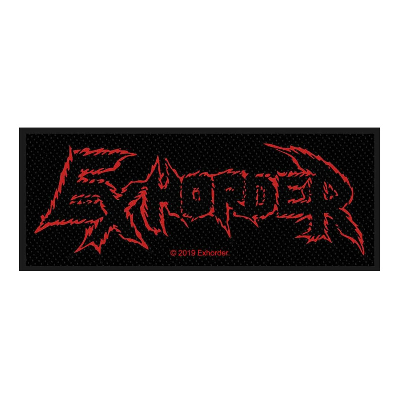 EXHORDER 官方原版 Logo (Woven Patch)