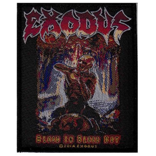 EXODUS 官方进口原版 Blood In Blood Out (Woven Patch)