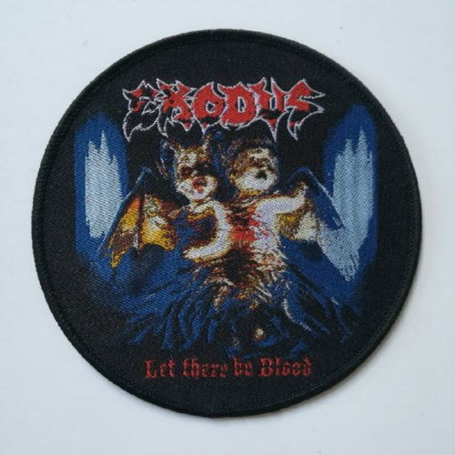 EXODUS 官方进口原版 Let There Be Blood (Woven Patch)