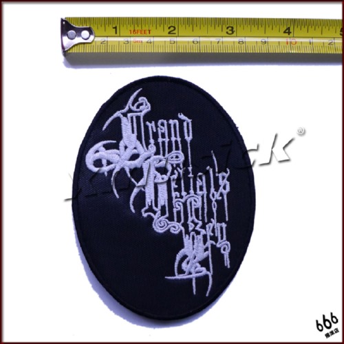 GRAND BELIALS KEY - Logo 椭圆 (Embroidered Patch)