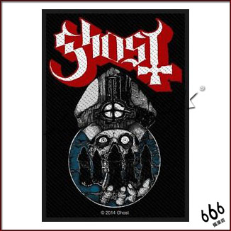 GHOST 官方进口原版 Warriors Papa (Woven Patch)