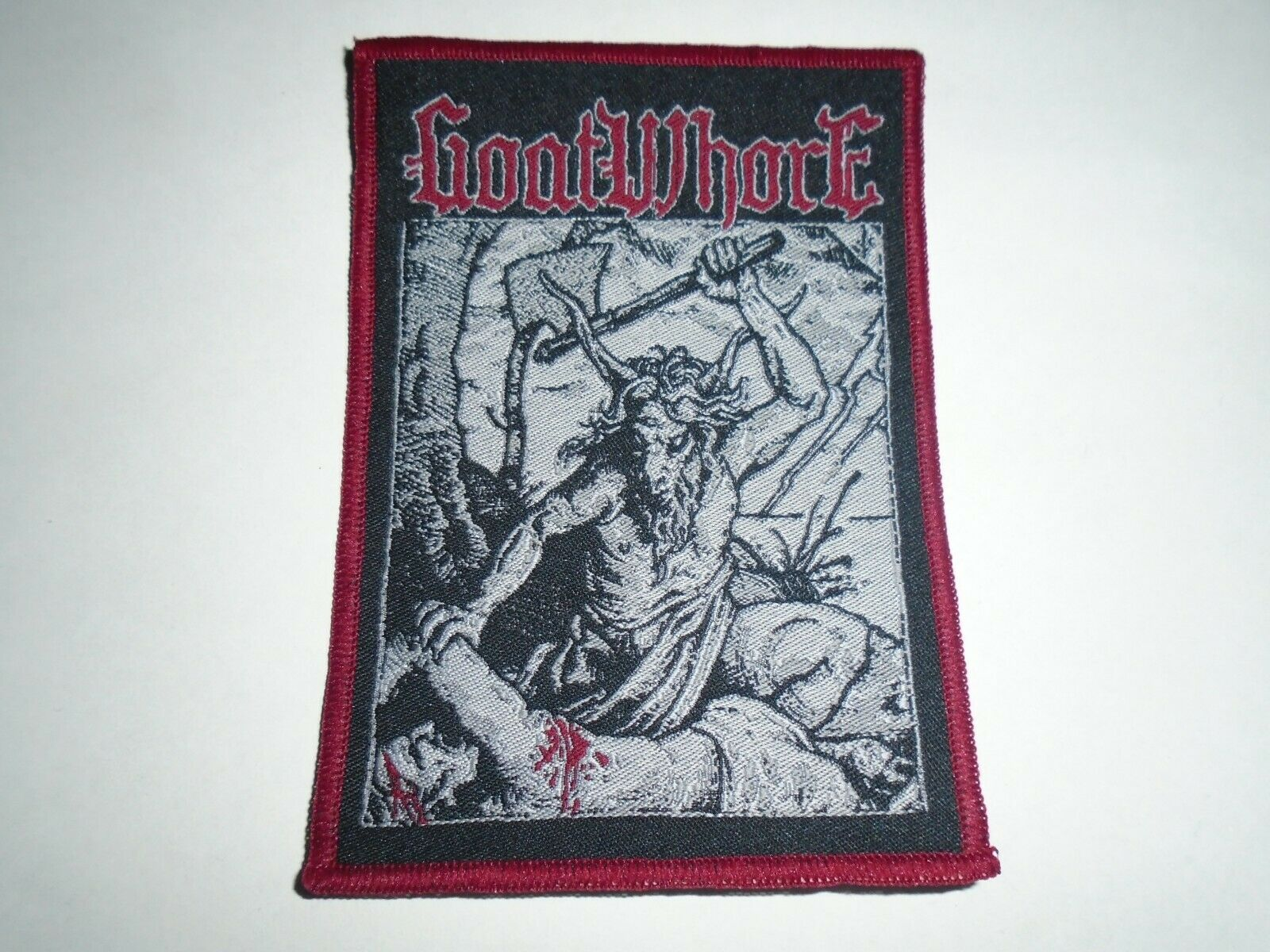 GOATWHORE 官方原版 Goat (Woven Patch)