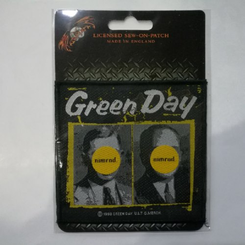 GREEN DAY 官方原版 Nimrod (Woven Patch)