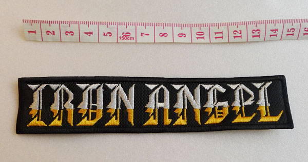 IRON ANGEL - Logo (Embroidered Patch)