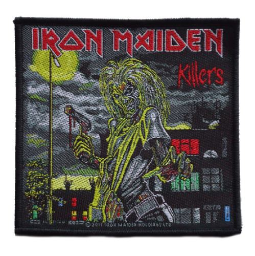 IRON MAIDEN 官方进口原版 Killers 方形 (Woven Patch)
