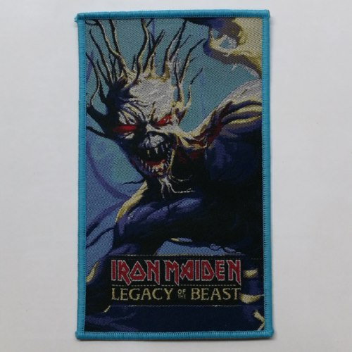 IRON MAIDEN 官方进口原版 Legacy of the Beast (Woven Patch)