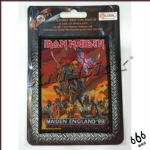IRON MAIDEN 官方进口原版 Maiden England (Woven Patch)