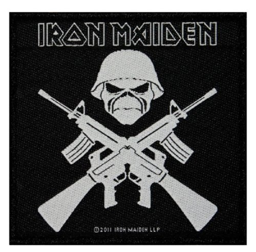 IRON MAIDEN 官方进口原版 Soldier (Woven Patch)