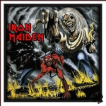 IRON MAIDEN 官方进口原版 The Number of the Beast (Woven Patch)