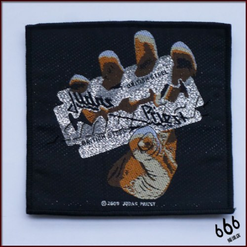 JUDAS PRIEST 官方原版 British Steel (Woven Patch)