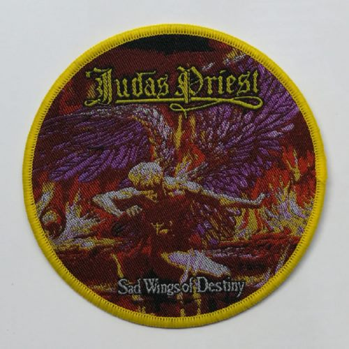JUDAS PRIEST 官方原版 Sad Wings of Destiny (Woven Patch)