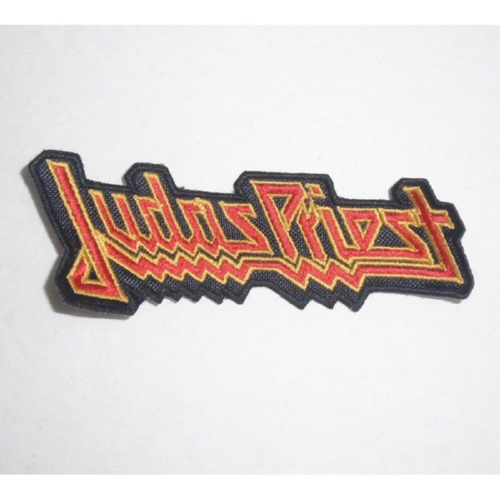 JUDAS PRIEST - Logo 红黄 (Embroidered Patch) TTP