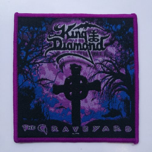 KING DIAMOND 官方进口原版 The Graveyard (Woven Patch)