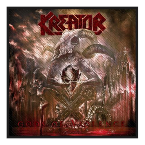 KREATOR 官方进口原版 The Gods Of Violent (Woven Patch)