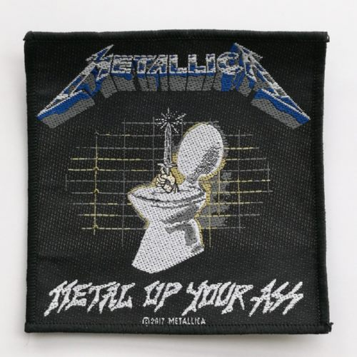 METALLICA 官方原版 Metal Up Your Ass (Woven Patch)